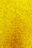 Golden mosaic texture Royalty Free Stock Photo