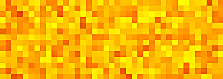 Golden mosaic tiles Stock Images