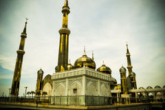 Golden mosque Stock Photography