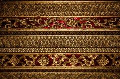 Golden motif Stock Image
