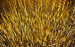 Golden motion blur Stock Photos