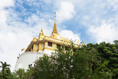 Golden Mount in Bangkok Royalty Free Stock Photography