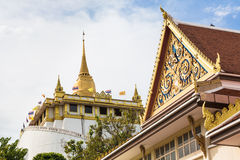 Golden Mount in Bangkok Royalty Free Stock Photo