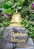 Golden Mount in Bangkok Royalty Free Stock Photography