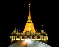 The Golden Mount in Bangkok, Thailand Royalty Free Stock Image