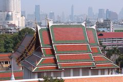 Golden Mount, Bangkok Stock Photography