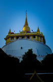 Golden Mount. Stupa on the top of Golden Mount, Wat Sraket, Bangkok, Thailand Royalty Free Stock Photos