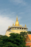 Golden mount temple, bangkok, thailand Royalty Free Stock Images