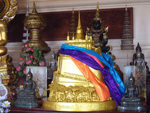 Golden Mount Temple in Bangkok Wat Saket Royalty Free Stock Image