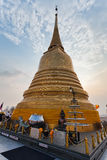 Golden Mount Temple (Wat Sakate) stock photos