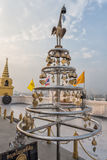 Golden Mount Temple (Wat Sakate), Bangkok, Thailand Stock Photos