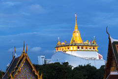 Golden Mount Temple or Wat Sarket, Bangkok, Thailand Royalty Free Stock Photography