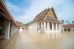 Golden mount temple Royalty Free Stock Image