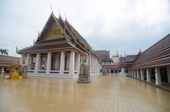 Golden mount temple Stock Image