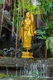 The Golden Mount. Wat Saket, Bangkok, Thailand Stock Photography