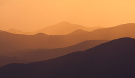 Golden mountain Royalty Free Stock Photography