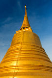 Golden Mountain Pagoda , Saket Temple ,Bangkok in Thailand Royalty Free Stock Images
