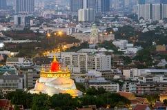Golden Mountain Pagoda Royalty Free Stock Photo