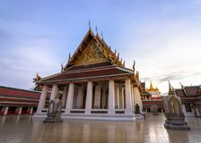 Golden Mountain Temple, Wat Saket Bangkok. Golden Mountain Temple or Wat Saket Bangkok. The mountain was construct since the King Rama III  and the Chedi was Stock Photos
