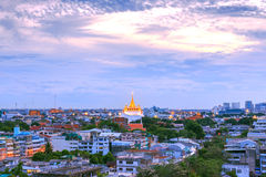 Golden Mountain Temple, Wat Saket Bangkok Royalty Free Stock Image