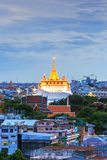 Golden Mountain Temple, Wat Saket Bangkok Royalty Free Stock Photos