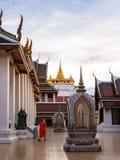 Golden Mountain Temple, Wat Saket Bangkok. Bangkok, Thailand - May 5, 2018: Golden Mountain Temple or Wat Saket Bangkok. The mountain was construct since the Stock Photo