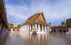 Golden Mountain Temple, Wat Saket Bangkok. Golden Mountain Temple or Wat Saket Bangkok. The mountain was construct since the King Rama III  and the Chedi was Stock Photography