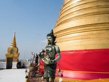 Golden mountain temple, Wat Saket Ratcha Wora Maha Wihan. Thailand Royalty Free Stock Image