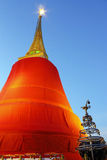 Golden moutain temple Royalty Free Stock Photo