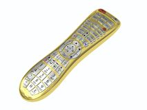 Golden multi-function remote control Stock Photography