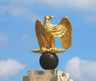 Golden Napoleon Eagle Royalty Free Stock Photo