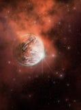 Golden Nebula Royalty Free Stock Photography