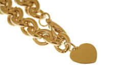 Golden Necklace Royalty Free Stock Photos