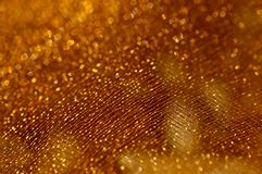 Golden net background Stock Photography