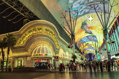 Golden Nugget hotel and casino in downtown Las Vegas Stock Photos