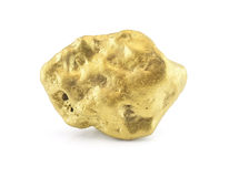 Golden nugget Royalty Free Stock Photography