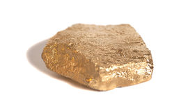 Golden nugget Royalty Free Stock Photo