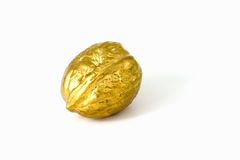 Golden nut Stock Images