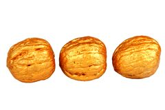 Free Golden Nuts Stock Photography - 1197832