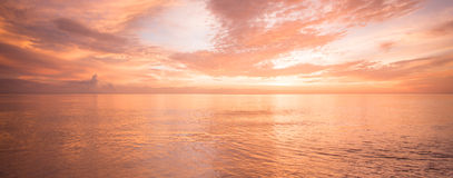 Golden ocean Royalty Free Stock Photos