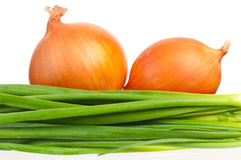 Golden onion Royalty Free Stock Photography