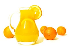 Golden Orange Juice Royalty Free Stock Photos