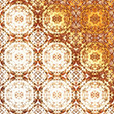 Golden oriental pattern, holiday folk traditional elements. Boho-chic gold festive texture for wallpapers, advertisement, page fill, book covers etc. Christmas Royalty Free Stock Images