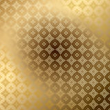 Golden ornamental vector background with gradient Royalty Free Stock Photos