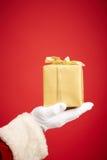 Golden package Stock Photos