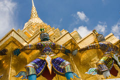 Golden pagoda Stock Image
