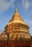 Golden Pagoda. In Grand Palace, Thailand Stock Photography