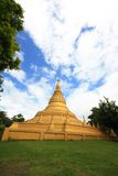 Golden Pagoda Stock Photo