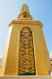 Golden pagoda. Temple in Thailand Royalty Free Stock Photography