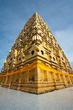 Golden Pagoda. Relic of the Buddha Royalty Free Stock Photography